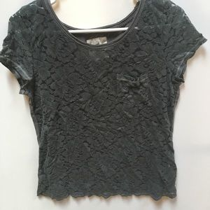 Women's hollister co t shirt-size M
